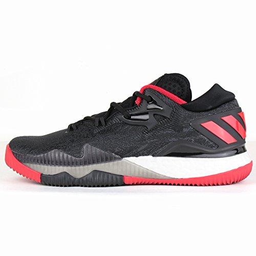 adidas(アディダス)【AQ8279】バスケットボール シューズ クレイジーライトブースト Low 2016(Crazylight Boost Low 2016) ジェームス・ハーデン2016着用モデルコアブラック×スカーレット 27.5