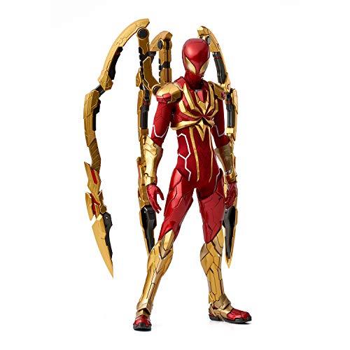RE:EDIT 1/6 アイアン・スパイダー 1/6スケール ABS&ダイキャスト製 塗装済み 完成品 アクションフィギュア