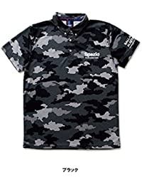 SPAZIO(スパッツィオ) Camuffamentoポロシャツ(tp-0492) (02ブラック, S)