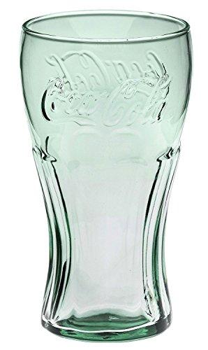 クラシック コカ コーラ ジェヌイングラス グリーン 17.2oz/510ml Classic Coca-Cola Glass in Georgia Green 17.2oz/510ml Coke Glass 並行輸入品