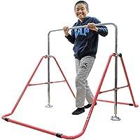 室内・屋外使用可 折りたたみ 鉄棒 子供用 40kgまで 高さ調整OK&組立カンタン