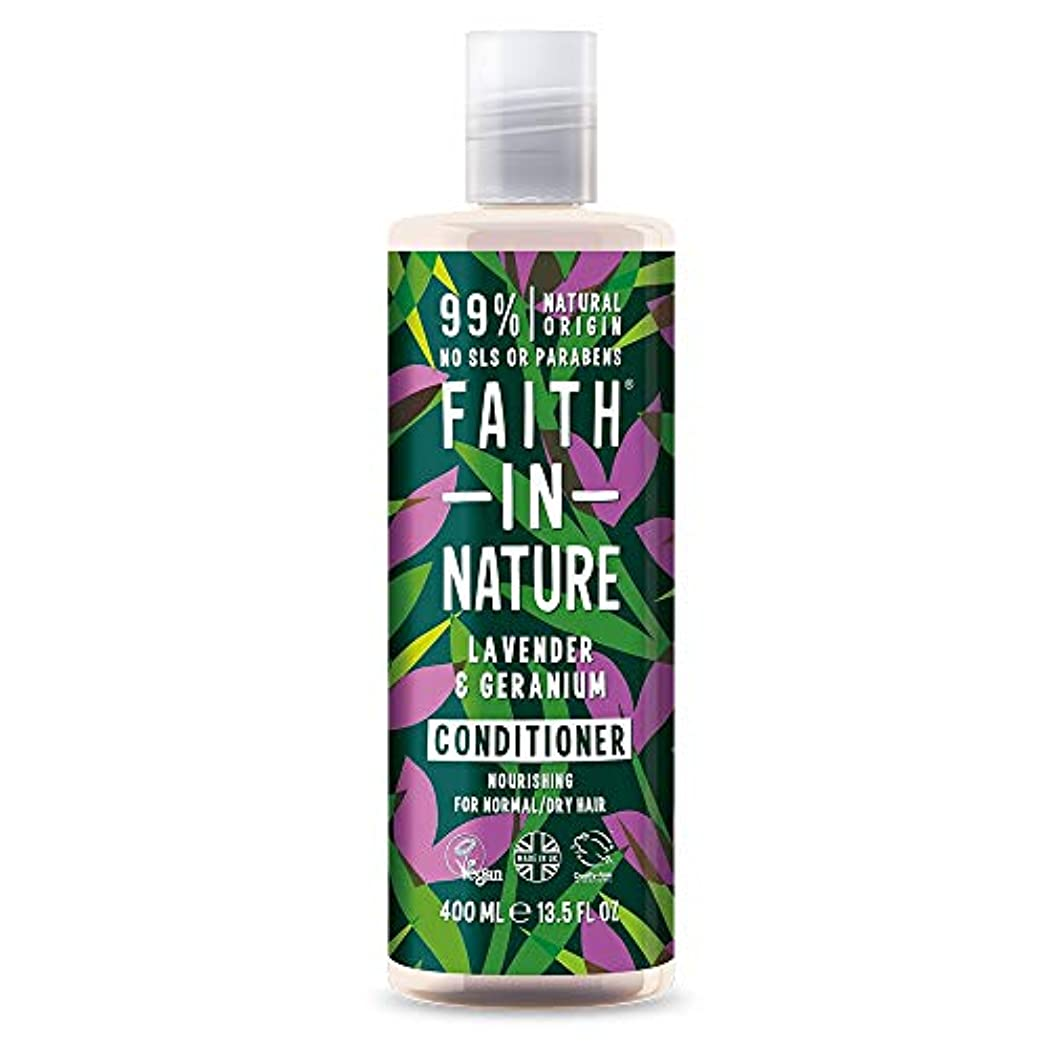 継続中力学反逆者Faith In Nature Lavender & Geranium Conditioner Normal To Dry Hair 400ml