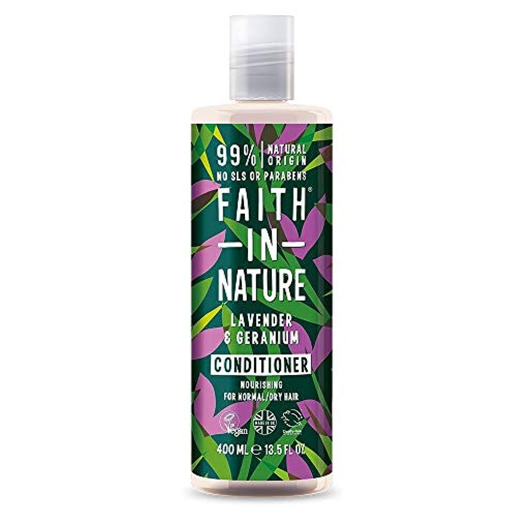 優雅ラフトジャベスウィルソンFaith In Nature Lavender & Geranium Conditioner Normal To Dry Hair 400ml