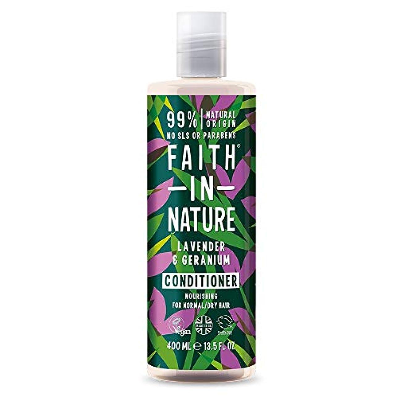 わざわざ本事務所Faith In Nature Lavender & Geranium Conditioner Normal To Dry Hair 400ml