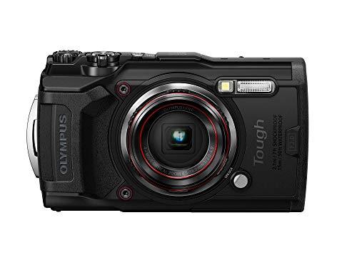 OLYMPUS デジタルカメラ Tough TG-6 ブラック 1200万画素CMOS F2.0 15m 防水 100kgf耐荷重 GPS 内蔵Wi-Fi T...