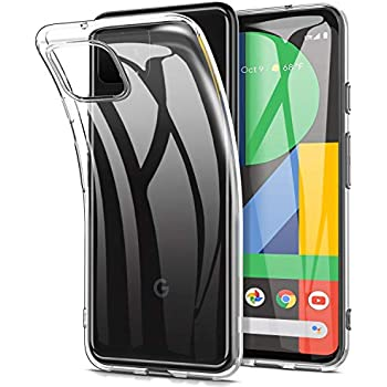 Msova Google Pixel 4 ケース ソフトケース Google Pixel 4 カバー Google Pixel 4 クリアカバー 全面保護メッキ加工 衝撃吸収 黄変防止 傷つけ防止 滑り止め 軽量型 人気 クリア