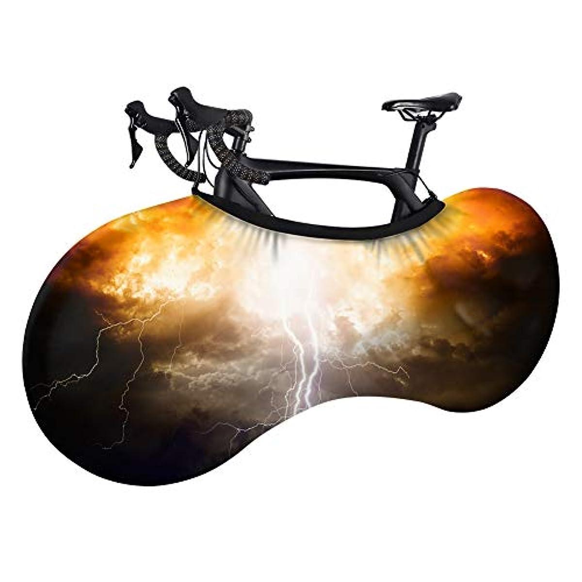 飾るレーニン主義顧問自転車カバー、防塵、アンチUVウォッシャブル弾性自転車、傷防止保護カバー、マウンテン自転車旅行保護カバー