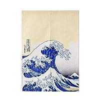Chinashow 和風/中華風 スタイル ドア カーテン 寿司 バー レストラン デコレーション のれん カーテン ホーム デコレーション カーテン ハーフ スクリーン、 大波