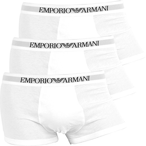 エンポリオアルマーニEMPORIO ARMANI ボクサーパンツ メンズ【3枚組セット】Genuine cotton with Logo band [並行輸入品]