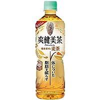 コカ・コーラ 爽健美茶 健康素材の麦茶 お茶 ぺットボトル 600ml×24本 [機能性表示食品]