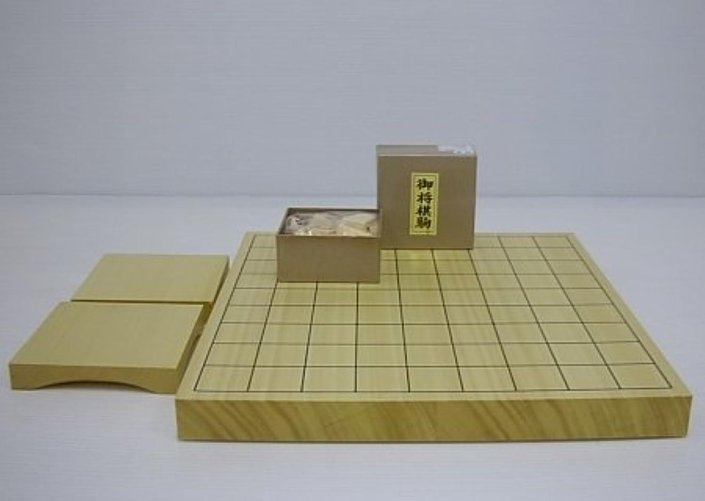 ヒバ卓上1寸将棋セット(松)№1103h-b 梅商将棋盤店
