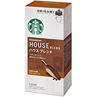 スターバックス「Starbucks(R)」オリガミ パーソナルドリップコーヒー ハウスブレンド 1ケース 【1箱(10g×5袋)×6】