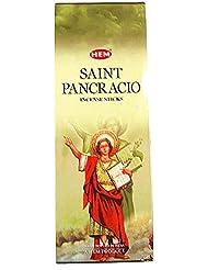 Hemお香San Pancracio Bulk 6 x 20スティック= 120 Sticks Wicca