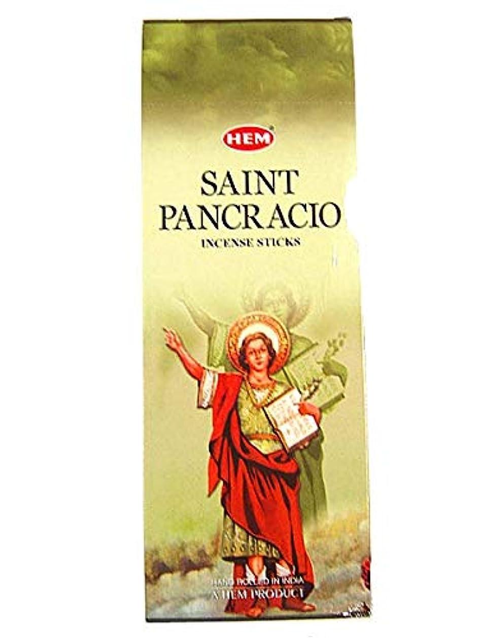 面汗祖先Hemお香San Pancracio Bulk 6 x 20スティック= 120 Sticks Wicca
