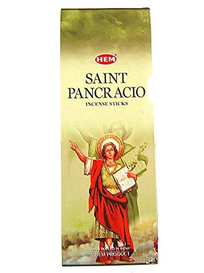 のれん上正気Hemお香San Pancracio Bulk 6 x 20スティック= 120 Sticks Wicca
