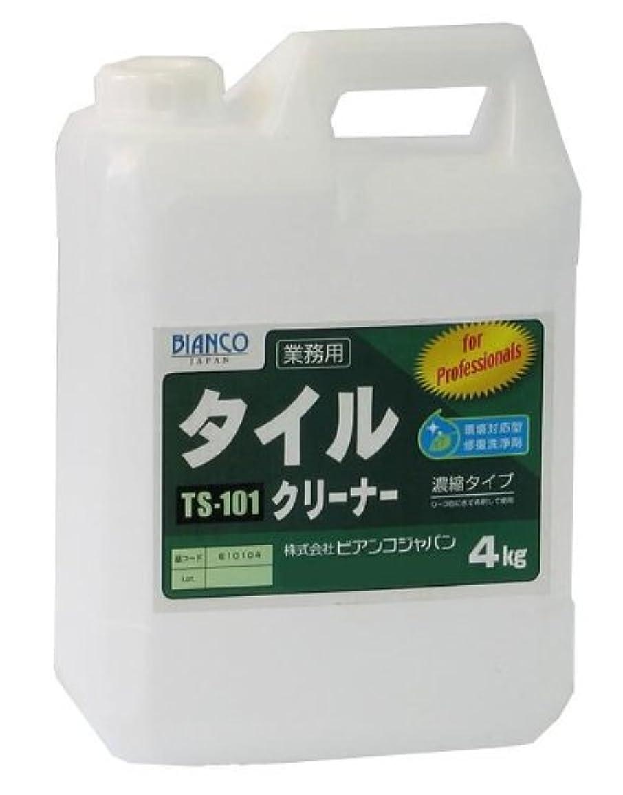トランザクションピット療法ビアンコジャパン(BIANCO JAPAN) タイルクリーナー ポリ容器 4kg TS-101