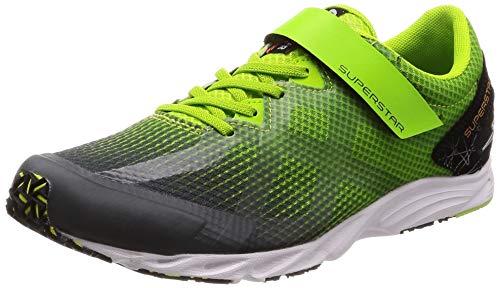 [スーパースター] 運動靴 究極軽 19cm~26cm 0.5cm対応 キッズ SS J883 グリーン 20 cm 2E