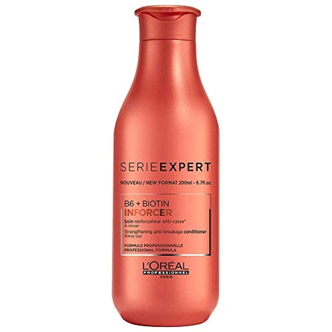 件名明確にビジターロレアル Professionnel Serie Expert - Inforcer B6 + Biotin Strengthening Anti-Breakage Conditioner 200ml/6.7oz並行輸入品