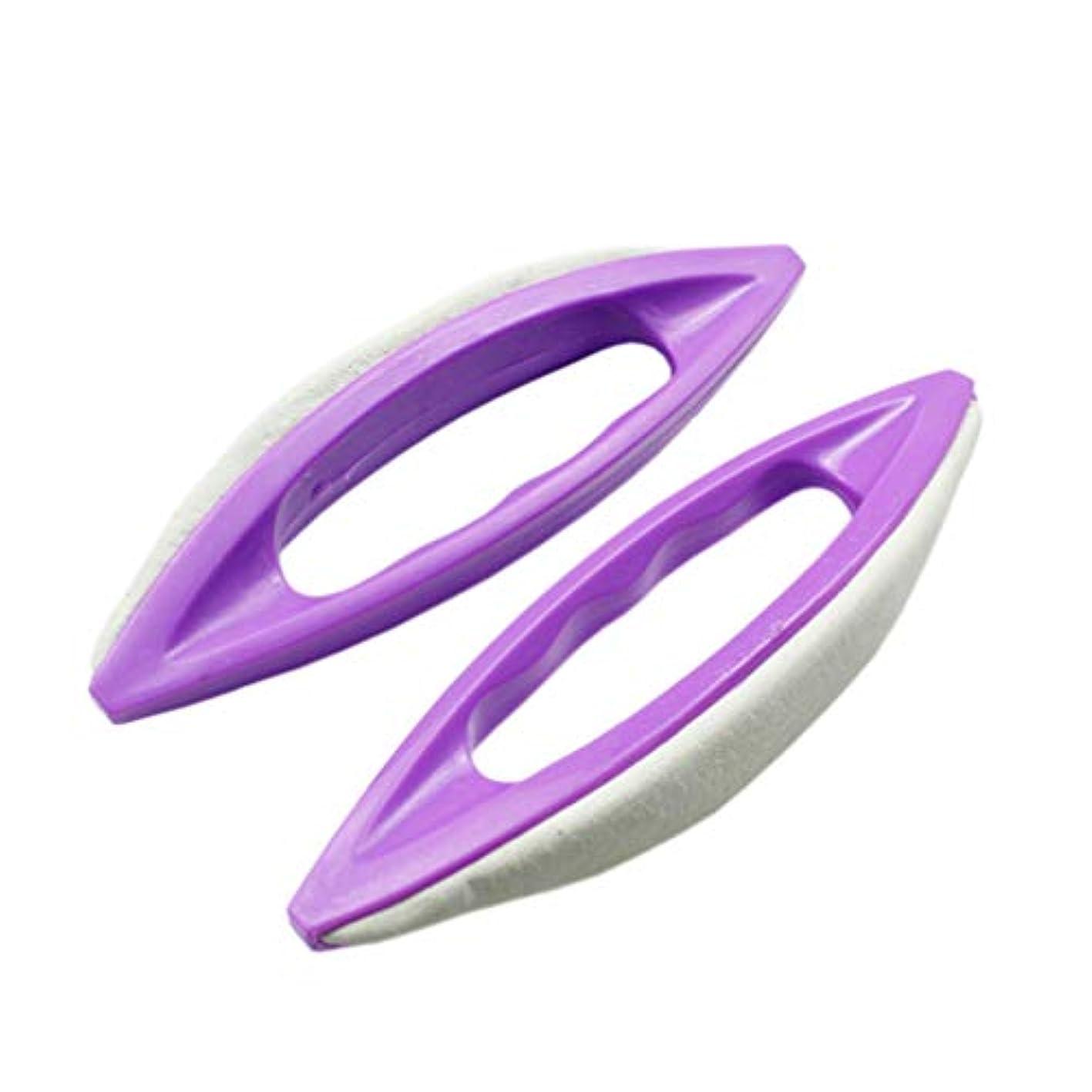 絡まるの間にマージンSUPVOX つま先と爪のための5本の爪ブラシ指の爪のスクラブクリーニングブラシ