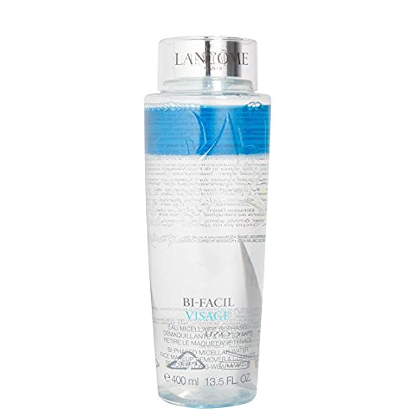 軽蔑ボランティアアンティークランコム Bi Facil Visage Bi-Phased Micellar Water Face Makeup Remover & Cleanser 400ml/13.5oz並行輸入品