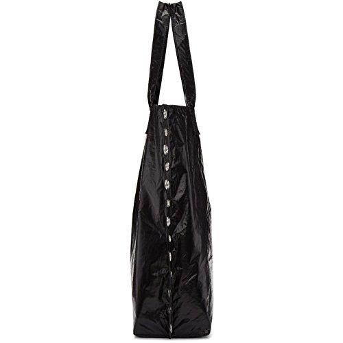 8b457f1c1939 (コム デ ギャルソン) Tricot Comme des Garcons レディース バッグ トートバッグ Black Large Rivet  Detail Tote [並行輸入品]