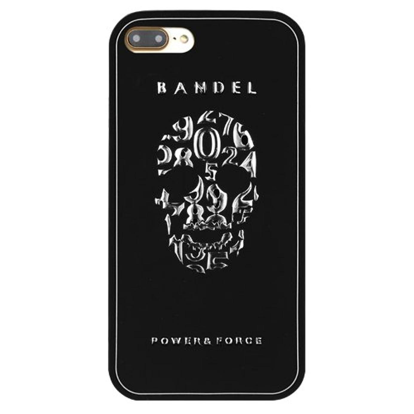 ワークショップ路地多様なバンデル(BANDEL)iPhone7 ケース スカル[ブラック×シルバー]/スマホケース iPhoneケース iPhone用