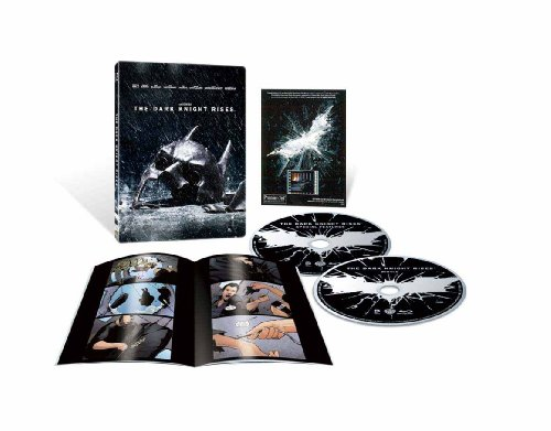 【Amazon.co.jp限定】ダークナイト ライジング ブルーレイ スチールブック仕様(完全数量限定生産) [Blu-ray]