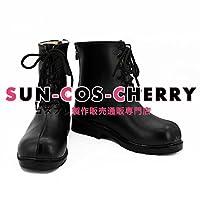 【サイズ選択可】コスプレ靴 ブーツ K-2019 HELLSING ヘルシング 高木由美子 由美江 男性27.5CM