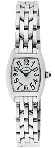 [フランクミュラー]FRANCK MULLER 腕時計 トノウ・カーベックス プティ シルバー文字盤 2502QZOSLV レディース 【並行輸入品】