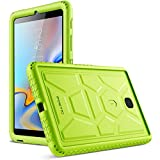 Galaxy Tab A 8.0 2018 Case, Poetic TurtleSkin [Corner Protection][Bottom Air Vents] Protective Silicone Case for Samsung Galaxy Tab A 8.0 (2018) SM-T387 Verizon/Sprint/T-Mobile - American Flag