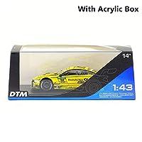 CBPPRMZ 市/1:43 スケール/おもちゃモデル/DTM M4 スーパースポーツレーシングカー/教育コレクション/ 子供のためのギフトおもちゃの車のる