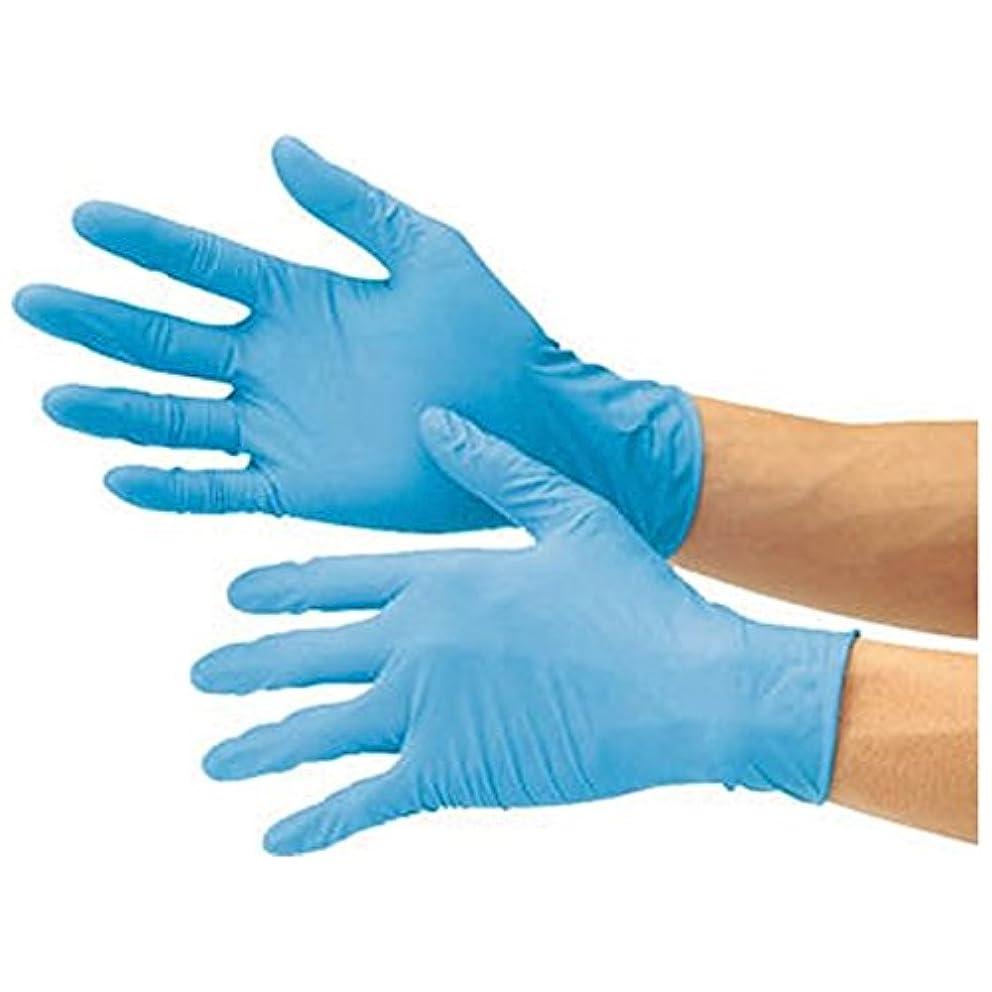 局分析的アプローチニトリル極うす手袋 NT400PF 100枚入り