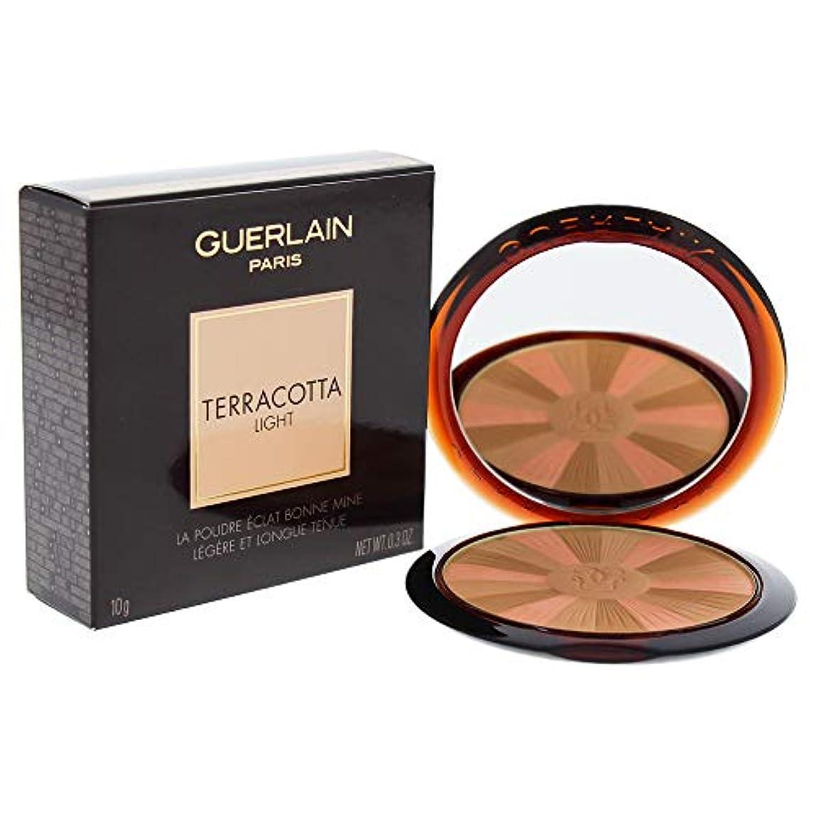 蜜ぺディカブ桃ゲラン Terracotta Light The Sun Kissed Healthy Glow Powder - # 01 Light Warm 10g/0.3oz並行輸入品
