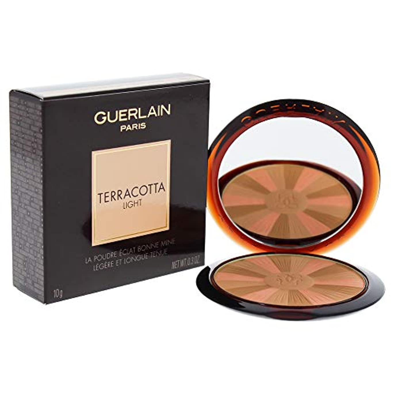 ペースト臨検鬼ごっこゲラン Terracotta Light The Sun Kissed Healthy Glow Powder - # 01 Light Warm 10g/0.3oz並行輸入品