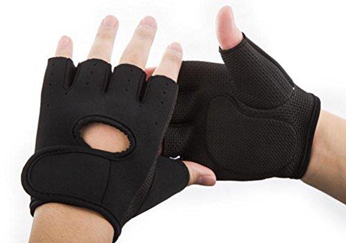 【good style】トレーニンググローブ 【黒 ブラック】Mサイズ シンプル ウエイトトレーニング・バーベル ダンベル 筋肉トレーニング ダイエット スタジオで大活躍 手袋