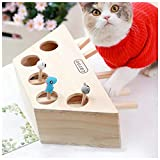 猫 おもちゃ もぐら 猫じゃらし モグラ叩き 猫遊び 猫じゃれ 猫用おもちゃ 5穴