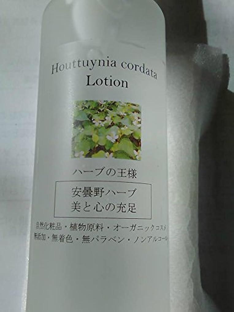 コンソールランタン典型的な化粧水[Houttuynia cordata Lotion 100ml] 安曇野エコ オリジナル【国産 安曇野産 無農薬どくだみ100%】