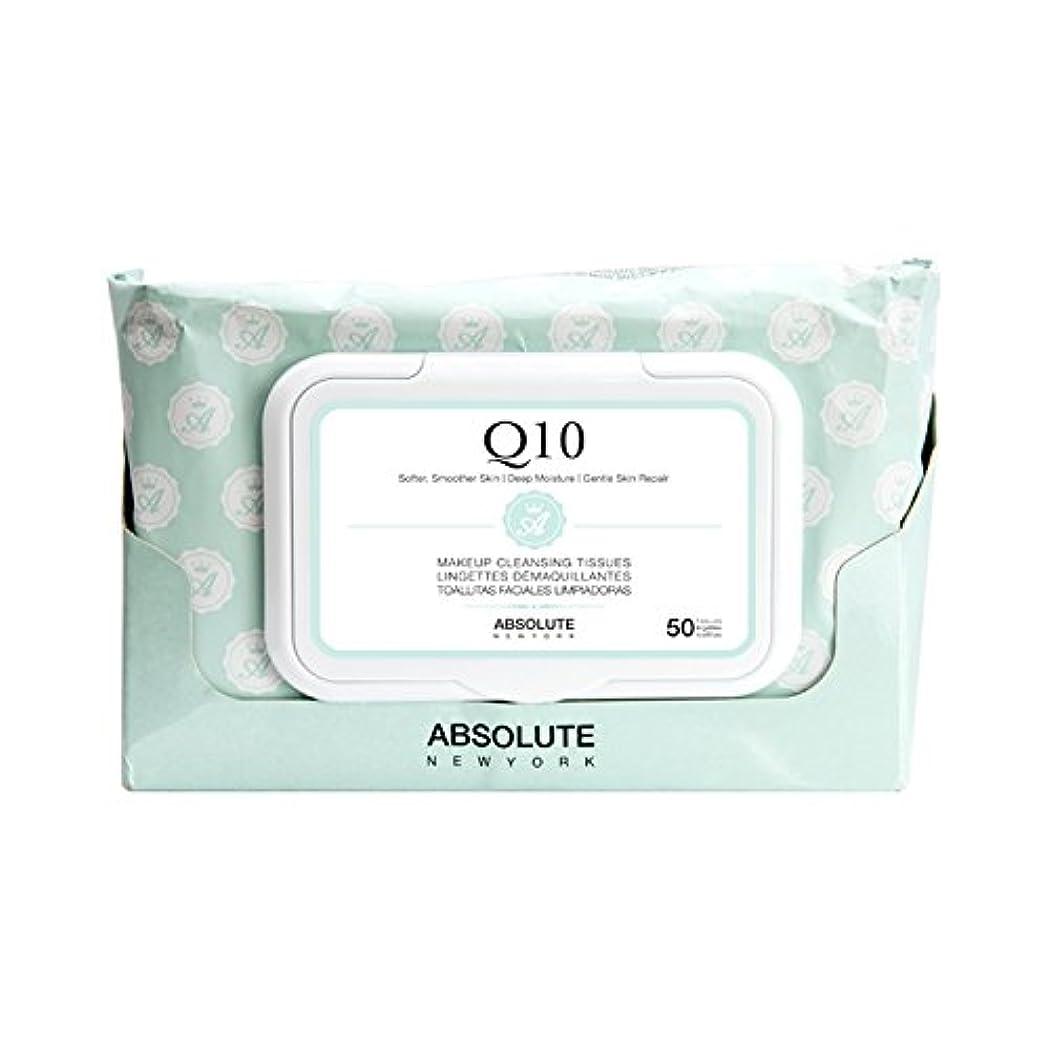 サリーアンティーク大洪水ABSOLUTE Makeup Cleansing Tissue 50CT - Q10 (並行輸入品)