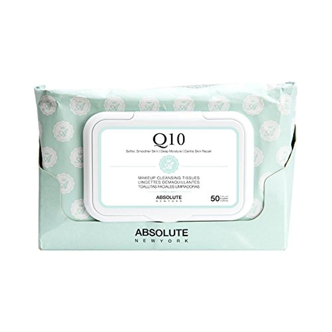 カバーパワーセル拒絶する(6 Pack) ABSOLUTE Makeup Cleansing Tissue 50CT - Q10 (並行輸入品)