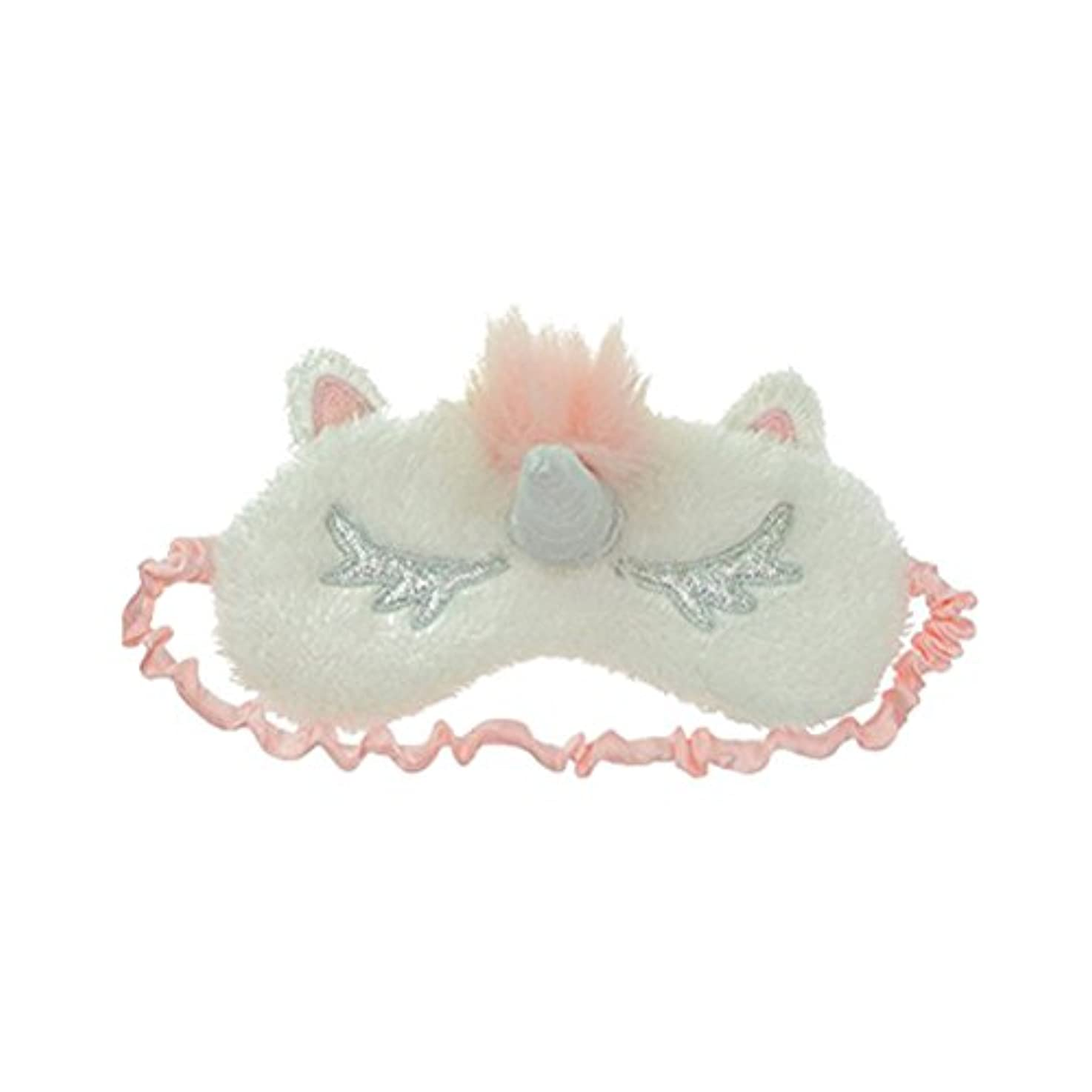 遅れ表示アベニューHEALIFTY ユニコーンスリープアイマスクカバーかわいいアイシェイドスリープナップ瞑想用の目隠し