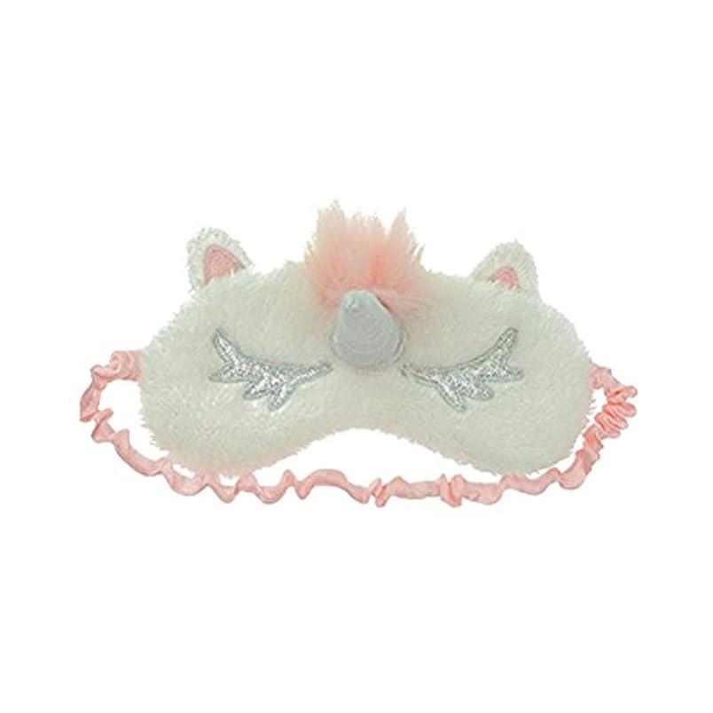 スカーフ観点感情HEALIFTY ユニコーンスリープアイマスクカバーかわいいアイシェイドスリープナップ瞑想用の目隠し