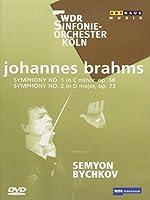 Brahms: Symphonies 1 & 2 [DVD] [Import]