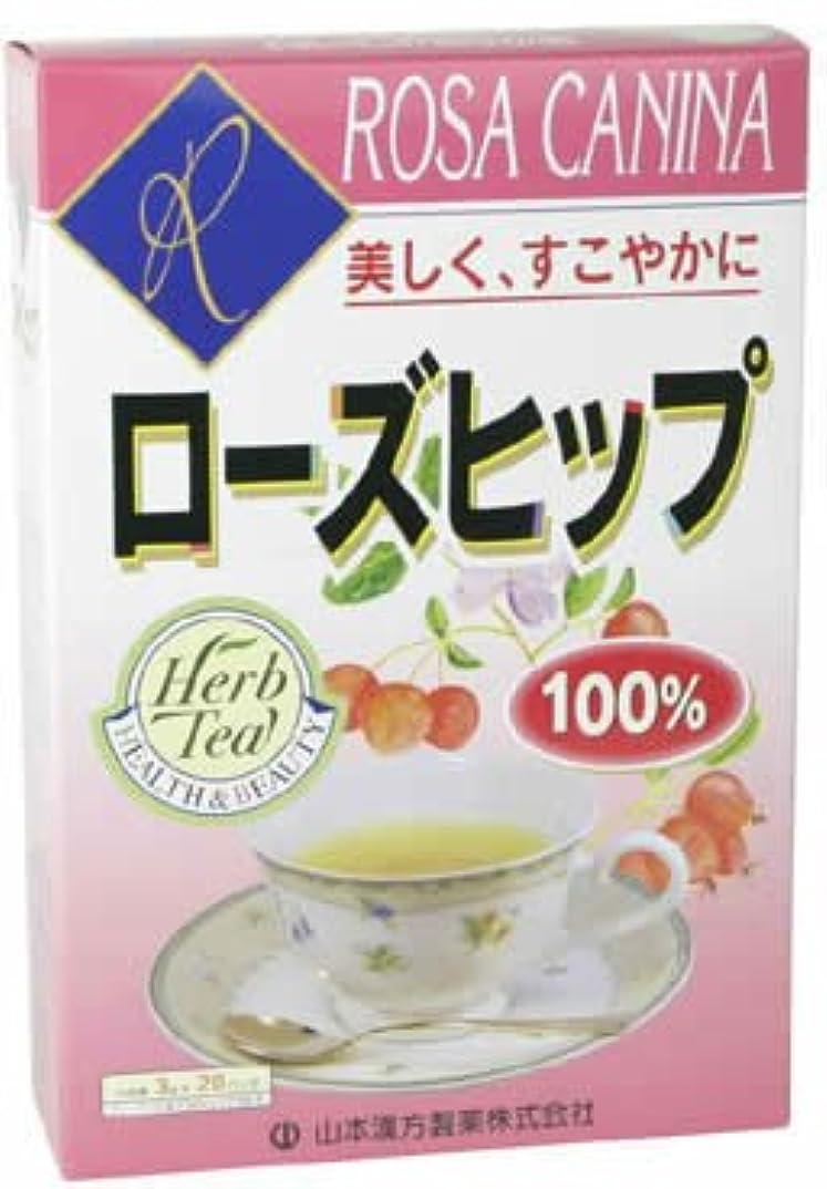 授業料広大な悪魔山本漢方製薬 ローズヒップ100% 3gX20H