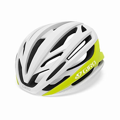 GIRO(ジロ) ヘルメット 自転車ロードヘルメット シンタックス ミップス アジアンフィット SYNTAX MIPS AF シトロン×ホワイト スタンダード2019モデル S