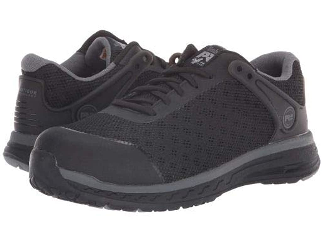 敷居出演者結果としてTimberland PRO(ティンバーランド) レディース 女性用 シューズ 靴 スニーカー 運動靴 Drivetrain Safety Toe EH - Black [並行輸入品]