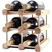 ワインラック-ソリッドウッドワインラックデコレーションワインラック,XL