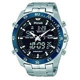 SEIKO WATCH(セイコーウォッチ) SEIKO PULSAR 腕時計 クロノグラフ アナデジ PW6013 メンズ [並行輸入品]