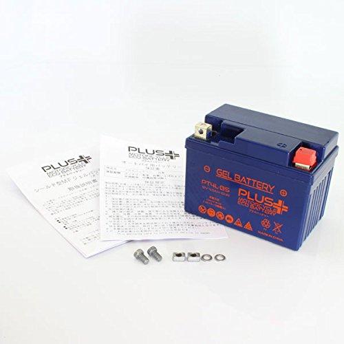 プラスバッテリー PT4L-BS シールド式 ジェルタイプ バイク用 4L-BS ウルフ50 アドレス RG50ガンマ