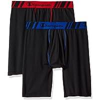 Champion Mens Tech Performance Long Boxer Brief Boxer Briefs