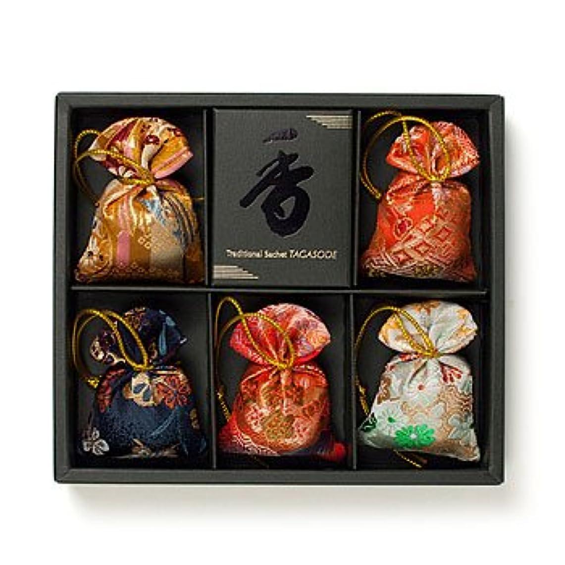 奴隷説明的美的匂い袋 誰が袖 みやこ(大) 5個入 松栄堂 Shoyeido